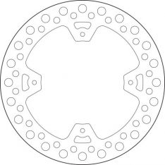 Brake disc 68B40786 Back
