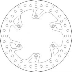 Brake disc FRONT 68B407B8