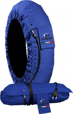 CAPIT TYRE WARMERS  SBK / SS | 85¡ FIXED  BLUE