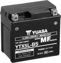 YUASA 12 V 4.2 Ah Battery YTX5L-BS