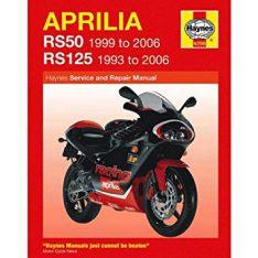 HAYNES Repair Manual Aprilia RS50 & RS125 (93-06)