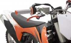 ZETA PIVOT BRAKE LEVER SET FP ORANGE