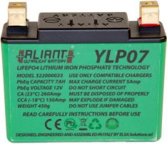 ALIANT YLP07 Lithium Battery