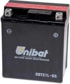 Unibat CBTX7L-BS 12 V bttery