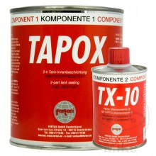 TAPOX 2K Fuel Tank Sealant 500 ml (for Steel and Alu Tanks)
