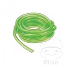 Fuel Pipe 6x9 mm Green Transparent 1 m (Perfect for 34 mm carb)