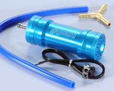 Polini Gas recovery Chamber Blue Yamaha (universal 2 stroke)