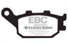 EBC Sintered Brakepads Rear FA 174V Honda CBR 600RR '05-'17