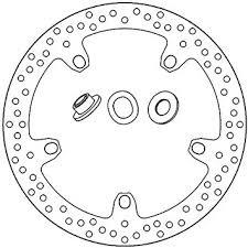 BRAKE DISC 168B407N2 OE 45 MM T..